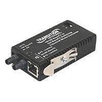 Transition Networks M/E-ISW Series Mini - fiber media converter - 10Mb LAN,