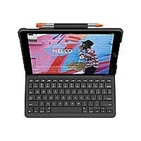 "Logitech Logitech 10,2"" keyboard case Slim Folio - iPad (7th gen) - keyboar"