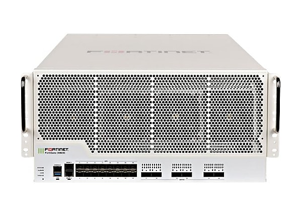 Fortinet FortiGate 3960E - security appliance - with 5 years FortiCare 24X7