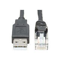 Tripp Lite USB-A to RJ45 Rollover Console Cable Cisco Compatible M/M 10ft