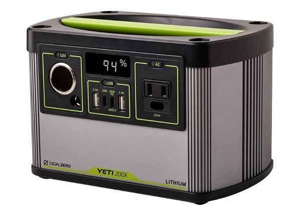 Goal Zero Yeti 200X - external battery pack - Li-Ion - 13 Ah - 187 Wh