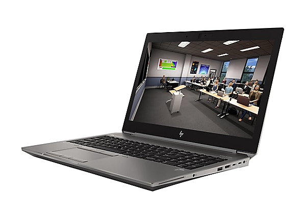 """HP ZBook 15 G6 Mobile Workstation - 15.6"""" - Core i7 9850H - 16 GB RAM - 512"""