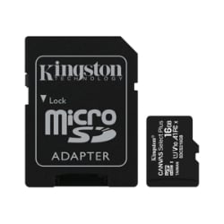 Kingston Canvas Select Plus - flash memory card - 16 GB - microSDHC UHS-I
