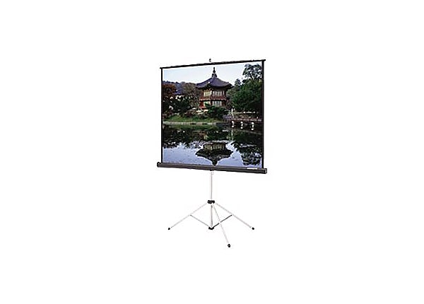 "Da-Lite Picture King with Keystone Eliminator 70""x70"" Projector Screen"