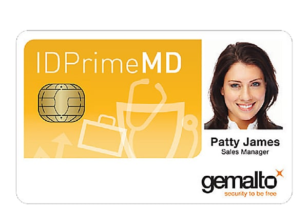 Gemalto SafeNet IDPrime MD 3811 DESFire EV1 Smart Card