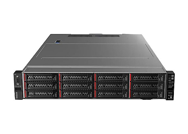 Lenovo ThinkSystem SR550 - rack-mountable - Xeon Silver 4208 2.1 GHz - 16 G