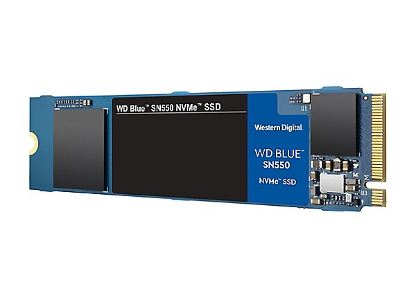 WD Blue SN550 NVMe SSD WDS500G2B0C - solid state drive - 500 GB - PCI Expre