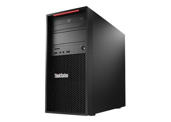 Lenovo ThinkStation P520c - tower - Xeon W-2123 3.6 GHz - 32 GB - SSD 1 TB