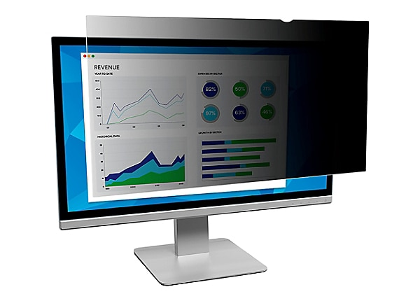 """3M Privacy Filter for 23.5"""" Widescreen Monitor - display privacy filter - 2"""