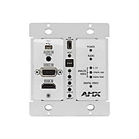 AMX DXLink Multi-Format Decor Style Wallplate Transmitter - video/audio ext