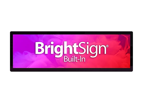 "Bluefin BrightSign Built-In 37.0"" Touch PoE 37"" LCD flat panel display"