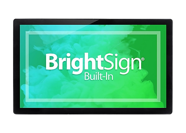 "Bluefin BrightSign Built-In 21.5"" Touch PoE Finished - 21.5"" LCD flat panel"