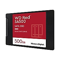 WD Red SA500 NAS SATA SSD WDS500G1R0A - solid state drive - 500 GB - SATA 6