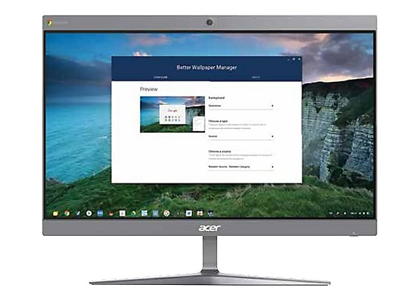 Acer Chromebase CA24I2 - all-in-one - Celeron 3867U 1.8 GHz - 4 GB - SSD 12