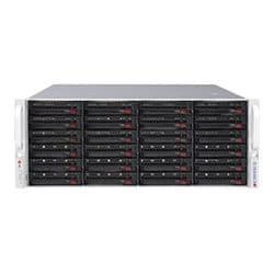 Supermicro SC846 BE1C-R1K23B - rack-mountable - 4U - enhanced extended ATX