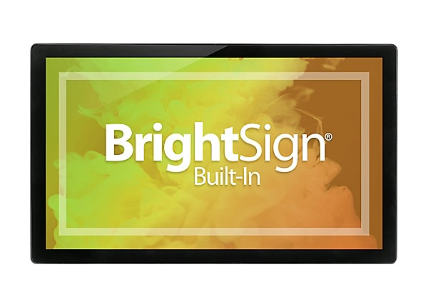 "Bluefin BrightSign Built-In 27.0"" Touch Finished - 27"" LCD flat panel displ"