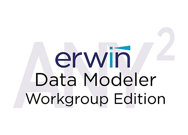 erwin Data Modeler Workgroup Edition (v. 9.7) - license + 3 Years Enterpris