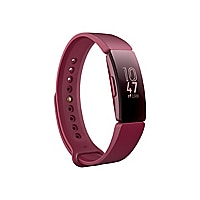 Fitbit Inspire activity tracker with band - sangria
