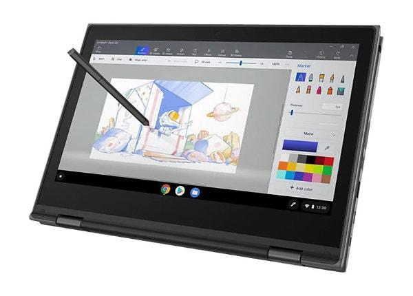 "Lenovo 500e Chromebook (2nd Gen) - 11.6"" - Celeron N4120 - 4 GB RAM - 32 GB"