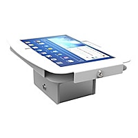 Compulocks Galaxy Secure Space Enclosure with Flip Kiosk Base Black - stand