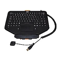 Havis Rugged Keyboard with Integrated Touchpad Mount System