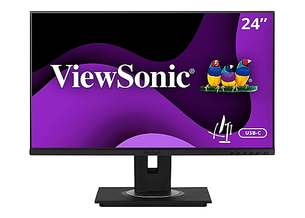 "ViewSonic VG2456 - LED monitor - Full HD (1080p) - 24"" - with built-in Giga"
