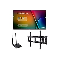 "ViewSonic ViewBoard IFP9850 Bundle 1 98"" Class (97.5"" viewable) LED display"