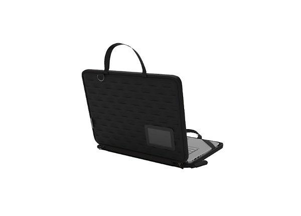 "MAXCases Explorer 4 Work-In Case for 14"" Notebook - Black"