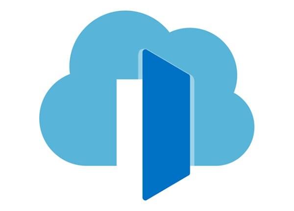 Microsoft Azure Front Door Service - fee - 100 GB capacity