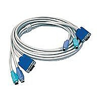 TRENDnet TK C10 - keyboard / video / mouse (KVM) cable - 10 ft