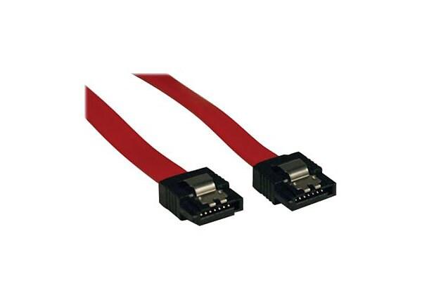 """Tripp Lite 19 Inch Serial ATA SATA Signal Cable 7Pin Male / 7Pin Male 19"""""""