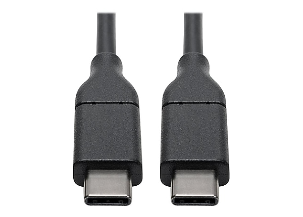 Tripp Lite USB 2.0 USB-C Hi-Speed Cable w/ 5A Rating 20V M/M USB Type-C 3ft