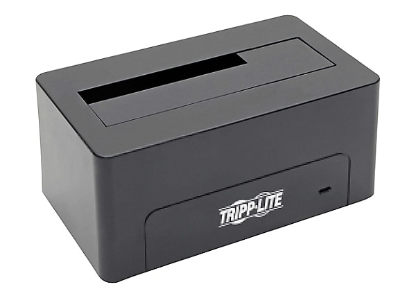 Tripp Lite USB Type C to SATA Quick Dock 2.5 n 3.5in HDD/SDD 10Gbps USB 3.1