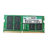 HPE - DDR4 - 32 GB - SO-DIMM 260-pin - unbuffered
