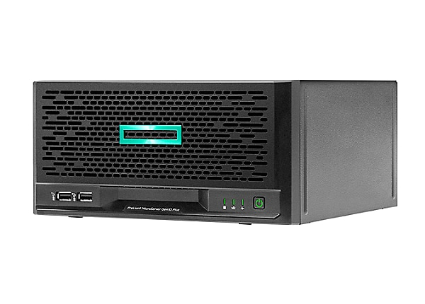 HPE ProLiant MicroServer Gen10 Plus Xeon E-2224 16GB RAM 1TB S100i Server