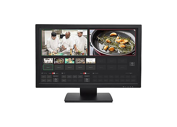 """Vaddio TeleTouch 27"""" USB Touch-Screen Multiviewer Display - Black"""
