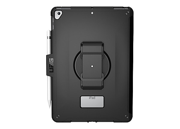 UAG Rugged Case for iPad 10.2-inch (7th Gen, 2019) - Scout w/ Handstrap Bla