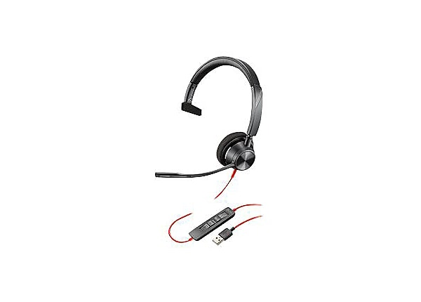 Poly - Plantronics Blackwire 3310 - headset