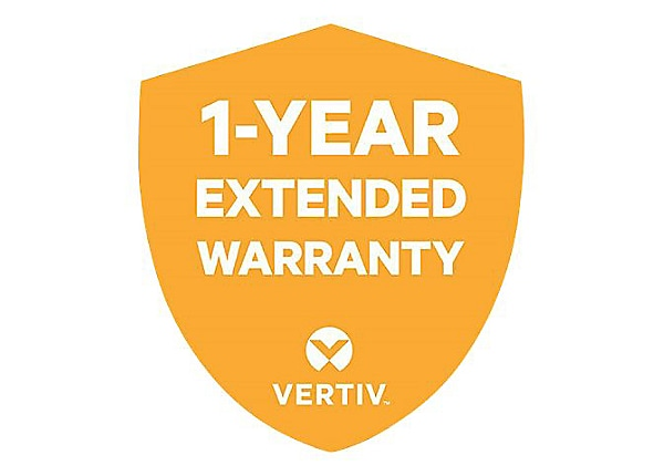 Vertiv Extended Warranty Service - extended service agreement - 1 year