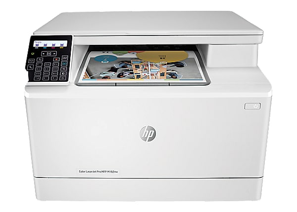 HP Color LaserJet Pro MFP M182nw - multifunction printer - color