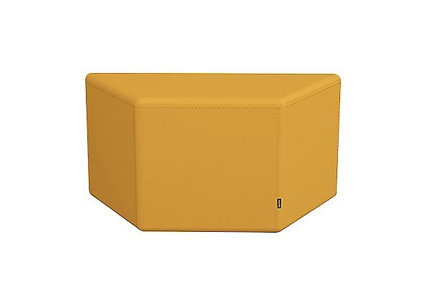 Spectrum Soft Seating without Buttons - Yellow
