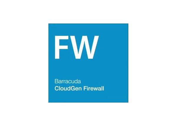 Barracuda CloudGen Firewall for Microsoft Azure Level 4 Virtual Subscriptio