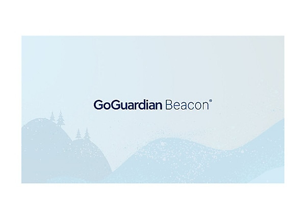 GoGuardian Beacon 24/7 Coverage - subscription license (3 years) - 1 licens