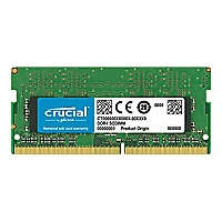 Crucial - DDR4 - module - 32 GB - SO-DIMM 260-pin - unbuffered