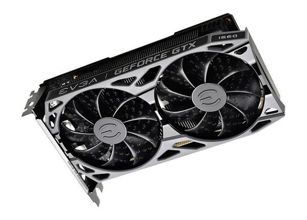EVGA GeForce GTX 1660 SC ULTRA GAMING - graphics card - GF GTX 1660 - 6 GB