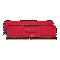 Ballistix - DDR4 - kit - 32 GB: 2 x 16 GB - DIMM 288-pin - 3000 MHz / PC4-2