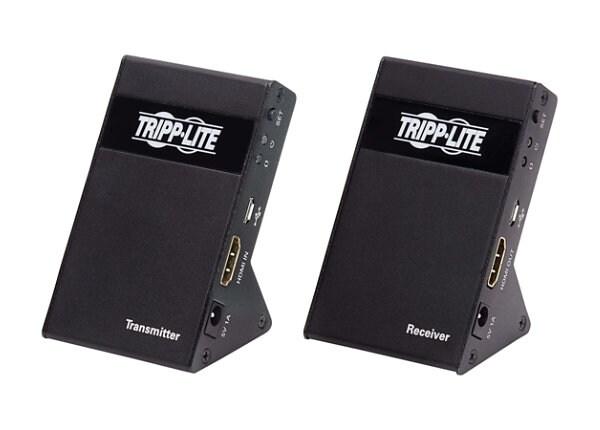 Tripp Lite Wireless HDMI Extender 4K @ 30Hz Zero Latency 7.1 Audio HDCP 2.2