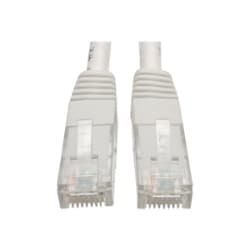 Tripp Lite 3ft Cat6 Gigabit Molded Patch Cable RJ45 M/M 550MHz 24 AWG White