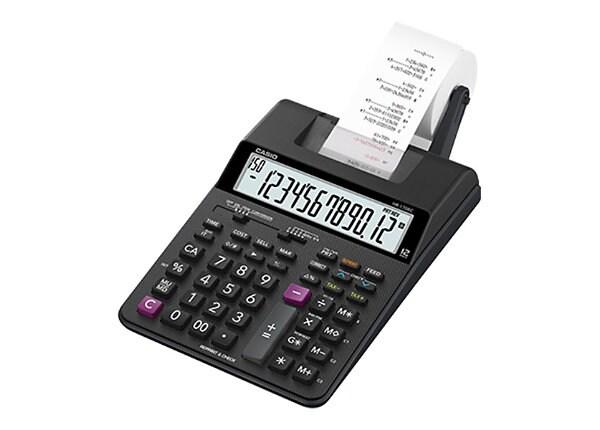 Casio HR-170RC - printing calculator