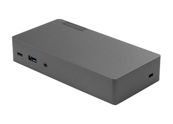 Lenovo Thunderbolt 3 Essential Dock - port replicator - Thunderbolt 3 - HDM